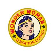 "Wonder Woman Sensation Comics 3"" Button"