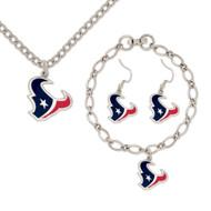 Houston Texans Jewelry Gift Set