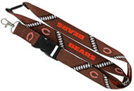 Chicago Bears Football Laces Lanyard