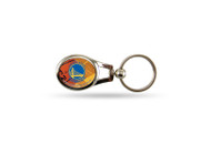 Golden State Warriors Oval Keychain