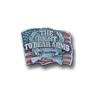 Right To Bear Arms Lapel Pin