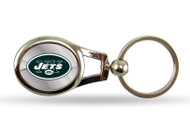 New York Jets Oval Keychain