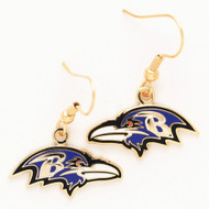 Baltimore Ravens Dangle Earrings