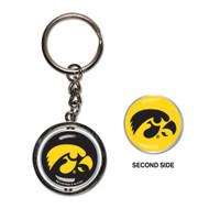 University of Iowa Spinner Keychain (WC)