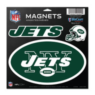 "New York Jets 11""x11"" Car Magnet Set"