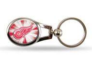Detroit Red Wings Oval Keychain