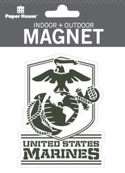 U.S. Marines Indoor Outdoor Die-Cut Magnet