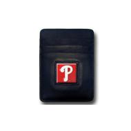 Philadelphia Phillies Leather Money Clip Card Holder