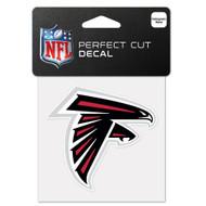 "Atlanta Falcons 4""x4"" Team Logo Decal"