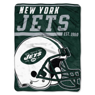 "New York Jets 45""x60"" Super Plush Fleece Blanket"