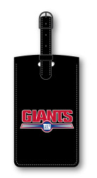 New York Giants Leatherette Luggage Tag