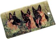 German Shepherd Luggage Bag Tag
