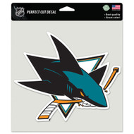 "San Jose Sharks 8""x8"" Team Logo Decal"