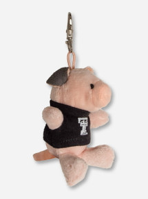 Plush Pig In Double T T-Shirt Keychain