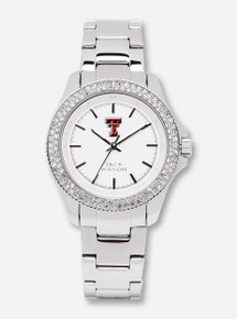 Jack Mason Texas Tech Glitz Women's Steel Watch