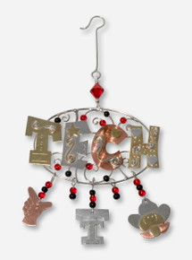 Copper Tech with Charms Ornament