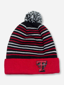 Texas Tech Cuffed YOUTH Black Beanie