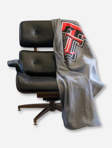MV Sport Texas Tech Double T Sweatshirt Blanket