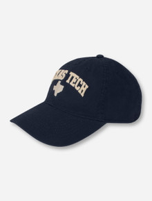 Legacy Texas Tech Arch Over Texas Silhouette Adjustable Cap