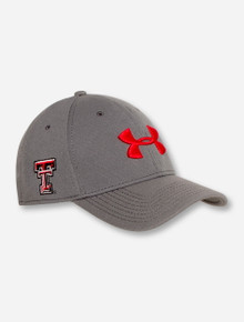 "Under Armour Texas Tech ""X-Factor"" Stretch Fit Cap"