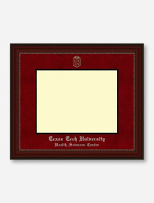 HSC Silver Embossed Cherry Bead Red Suede Diploma Frame T9 (Drop Ship: 6-8 Weeks)