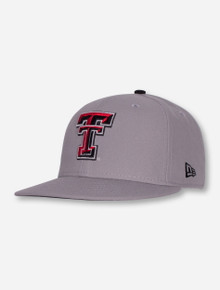 New Era Texas Tech Double T Sized Stretch Fit Cap