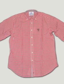 Thomas Dean Texas Tech Collegiate Red Plaid Shirt