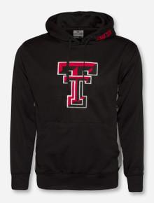 Arena Texas Tech Big Double T on Black & Grey Hoodie