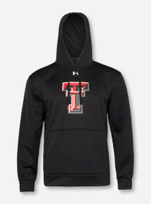Under Armour Texas Tech Double T on Black Hoodie 3