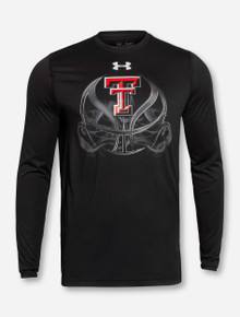 "Under Armour Texas Tech ""Fade Away"" Black Long Sleeve"