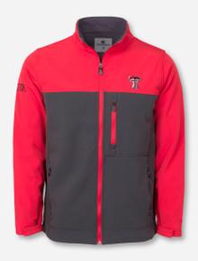 Arena Texas Tech Jones Stadium Red & Charcoal Jacket
