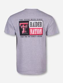 Texas Tech Raider Nation Grey T-Shirt