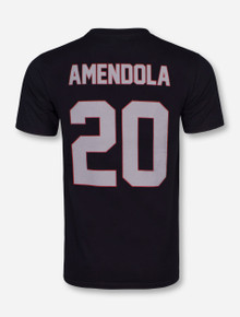 Retro Brand Spring Game Old School Amendola Black T-Shirt - Texas Tech