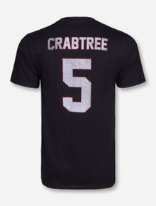Retro Brand Spring Game Old School Crabtree Black T-Shirt - Texas Tech