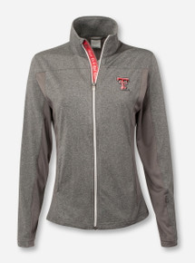 Texas Tech Aurora Women's Heather Charcoal Jacket