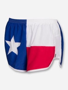 Texas Flag Red, White & Blue Shorts - Texas Tech