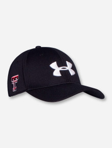 "Under Armour Texas Tech ""X-Factor"" Sized Stretch Fit Cap"
