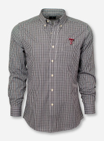 "Antigua Texas Tech ""Monarch"" Dress Shirt"