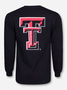 Texas Tech Large Double T Long Sleeve