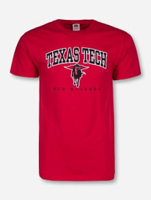 Classic Texas Tech Arch with Masked Rider T-Shirt