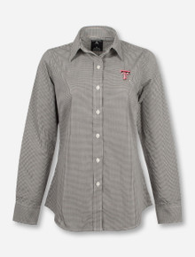 "Antigua Texas Tech ""Focus"" with Double T on Women's Dress Shirt"