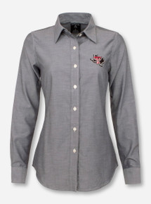 "Antigua Texas Tech ""Sharp"" Women's Dress Shirt"