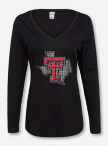 Summit Texas Tech Bling Lone Star Pride Long Sleeve