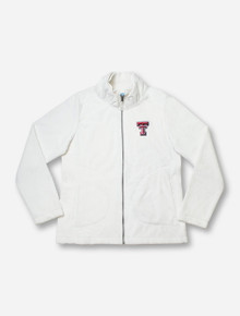 "Charles River Texas Tech ""Silken"" Women's Fleece Jacket"