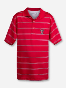 "Antigua Texas Tech ""Deluxe"" YOUTH Polo"