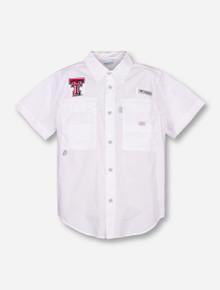 """Texas Tech Columbia """"Bonehead"""" YOUTH Fishing Shirt"""
