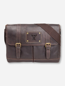 Jack Mason Texas Tech Gridiron Brown Messenger Bag