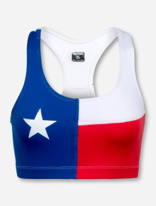 Texas Flag Sports Bra - Texas Tech
