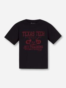 "Texas Tech ""Jedi Training"" on Black YOUTH T-Shirt"
