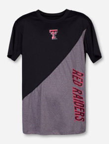 Arena Texas Tech Diagonal Contrast Red Raiders YOUTH T-Shirt